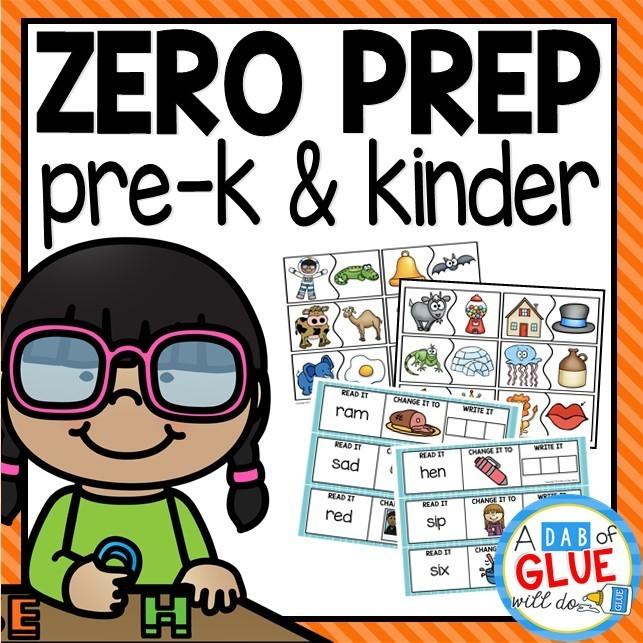 Zero Prep Pre-K and Kinder